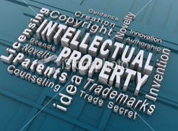 Image of examples of intellectual property